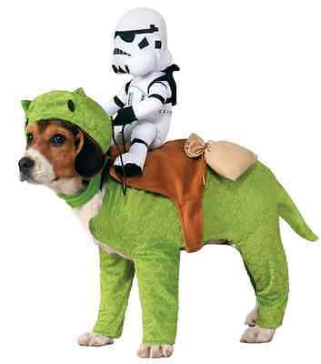 Dewback Stormtrooper Rider Star Wars Fancy Dress Halloween Pet Dog Costume