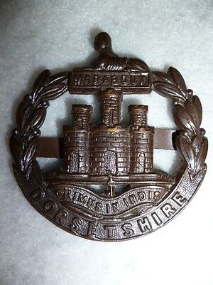 The Dorsetshire Regiment Officer's Bronze OSD Cap Badge