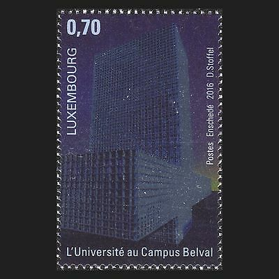 Luxembourg 2016 - University at the Belval Campus Architecture - MNH