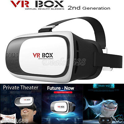 Virtual Reality VR BOX Goggles 3D Glasses Google Cardboard VR Headset For Phone