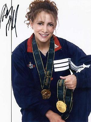 Autographed Picture Shannon Miller Most Decorated Gymnast in US History COA