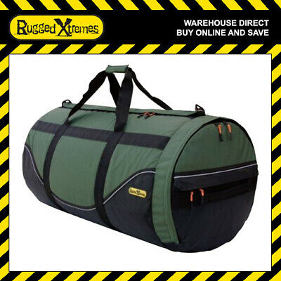 Rugged Xtremes LARGE Canvas Duffle Bag Tool Gear Equipment Storage 4 Extremes