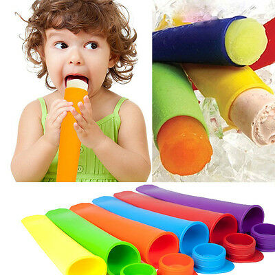 Safety Summer Silicone Freezer Ice Pop Mold DIY Tools Popsicle Maker Ice Maker