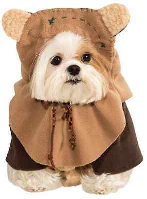 Ewok Wicket Star Wars Movie Fancy Dress Up Halloween Pet Dog Cat Costume