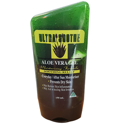 Ultra Soothe Aloe Vera After Sun Gel 150ml, 2 Pieces