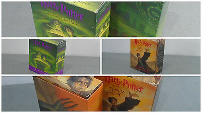 Harry Potter-The Deathly Hollows & Half Blood Prince Unabridged Audiobooks CDs