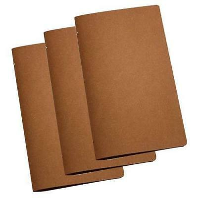 20x Deluxe Tuscan Leather Menu Natural A4 Narrow w 4 Pockets Cafe Menus NEW