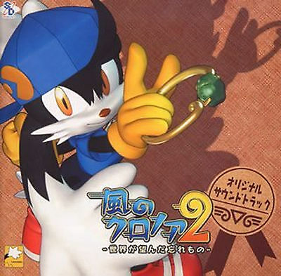 Klonoa GAME SOUNDTRACK CD Japanese Klonoa  2