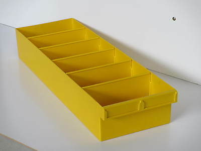 Fischer Plastics Spare Parts Tray 200x100x600 1H-028 in many colours Aust Made
