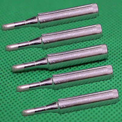 5Pcs Replacement Soldering Leader-Free Solder Iron Tip For Hakko 936 900M-T-3C