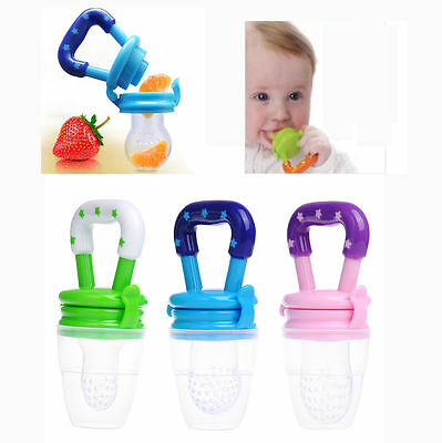 Baby Fresh Food Feeder Feeding Pacifier Dummy Soothers fr Toddler Infant Feeding