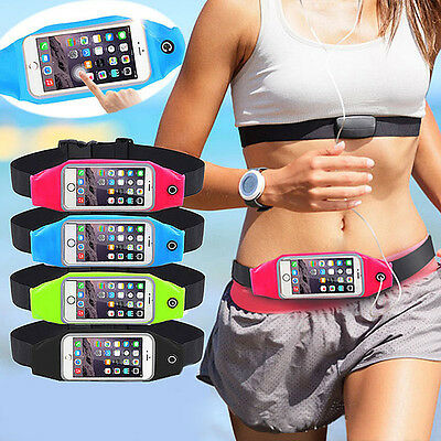Waterproof Sport Waist Bag Running Wallet Mobile Phone Pouch For Plus 6/6S