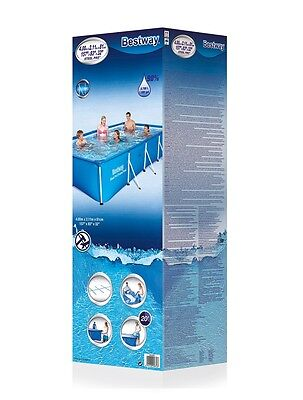 Bestway Frame Family Deluxe Splash Stahlbecken Pool Gartenpool