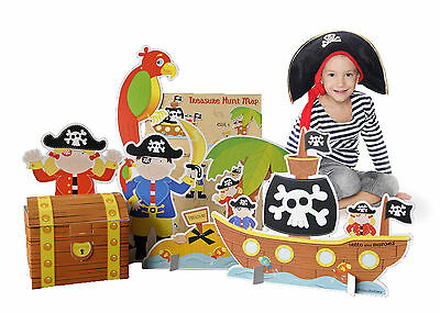 Pirate Treasure Hunt Party Game for children, kids ebay