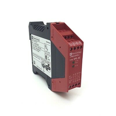 Safety Relay XPSAC3421 027404 Telemecanique 115VAC XPS-AC3421