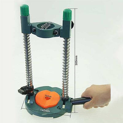 105416 DIY Hands free Universal Mobile Hand Drill Stand, Pipe Drilling Guide