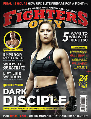Fighters Only Magazine Issue 134 (November 2015 Issue)