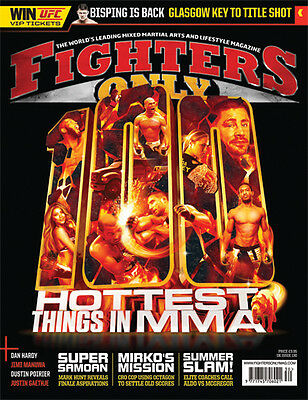 Fighters Only Magazine Issue 130 (July 2015 Issue)