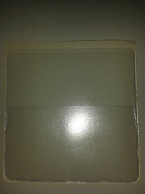 Qty 50 Parking Permit Holder In Clear Pvc + Extra Pock For Card