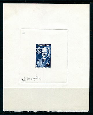 Artist Signed Monaco Deluxe Proof  - Eisenhower - #357 (Lot #B360)