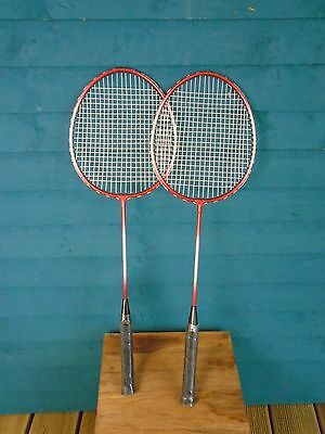 A New Pair Of Badminton rackets by Premier