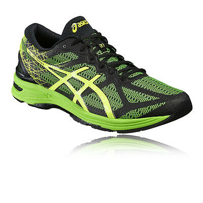 Asics Gel-DS Trainer 21 Mens Green Black Support Running Shoes Trainers