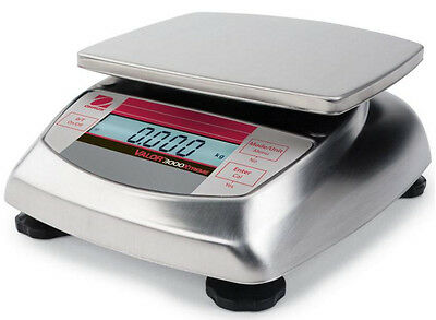 Ohaus Valor 3000 V31XH4 Compact Stainless steel Scale 4kgX 0.1g,New, Warranty