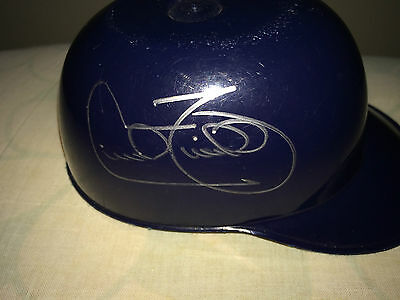 Cecil Fielder Autographed Detroit Tigers Ice Cream Helmet