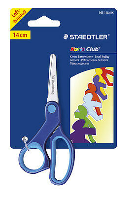 Staedtler Noris Club Small Left Hand  Scissors For Children Hobby Creative