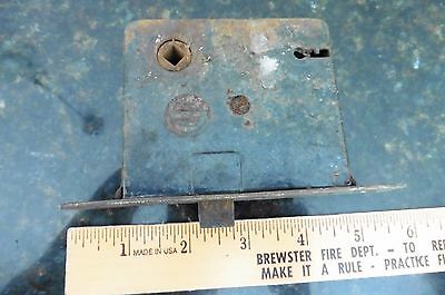 Vintage Eagle Door Hardware Mortise Lock Antique Home Metal Door Salvage