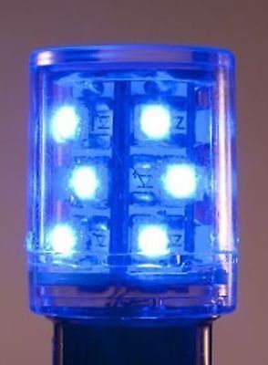 Bulb Ba15D 10 Led T5-1/2 Blue Tower Light 24V Ac/dc