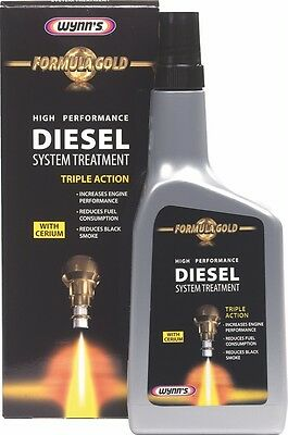 Wynn's Formula Gold High Performance Diesel Injection System Treatment Cleaner