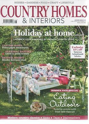 Homes gardens magazine august 2007 picclick uk for French country home magazine