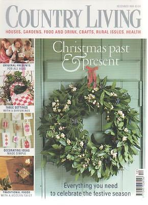 COUNTRY HOMES & INTERIORS MAGAZINE December 1999 Christmas Past and Present AL