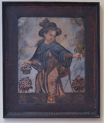Nino De Atocha  Spanish Colonial Painting