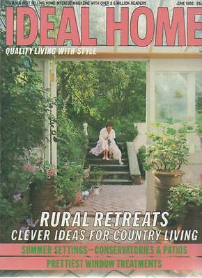 IDEAL HOME MAGAZINE June 1986 Rural Retreats AL
