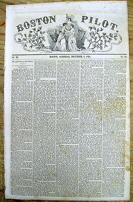 1848 newspaper President JAMES POLK confirms DISCOVERY of GOLD in CALIFORNIA