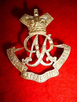 The Oxfordshire Hussars Cast Cap Badge, Theater Made