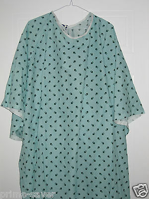2 Tie Back 10Xl  Hospital Patient Gown Medical Exam Gowns Extra Large Gowns