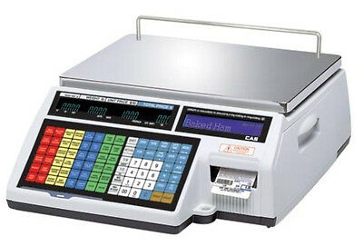 CAS CL5000B Label Printing Scale 60 lb ,NTEP,Legal For Trade,Wirelss Card,New