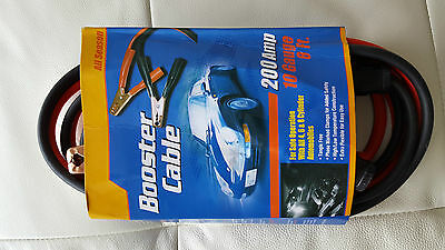 Booster Cable (LOT OF 100 pcs) 8 Feet 10 Gauge Jumper Cables Power