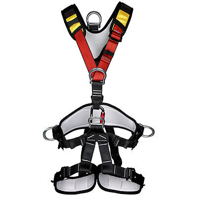 XinDA Mountaineering Rock Climbing Harness Adjustable Safety Waist Belt Great