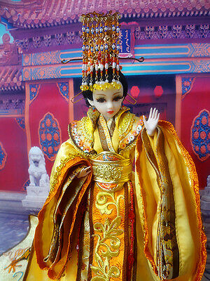 Chinese Collectible Toy Dolls  Doll The Empress of China Lady Wu with Suit