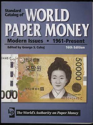 Krause Standard Catalog of World Paper Money 1961-Present 16th Edition Ex Cond