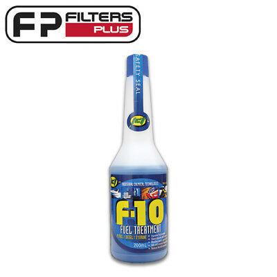 F10 Fuel Treatment (200ml) - Removes water, Kills Diesel Bug - All Fuels