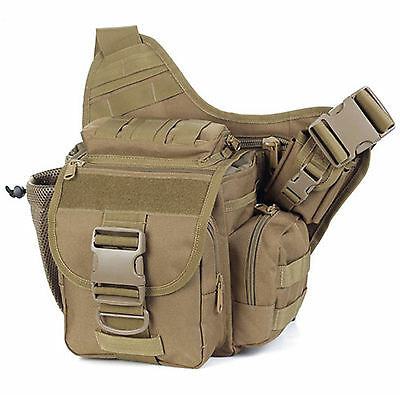New 1pcs Outdoor Backpack Bag Tactical Wais Belt Camping Hiking Pouch Wallet
