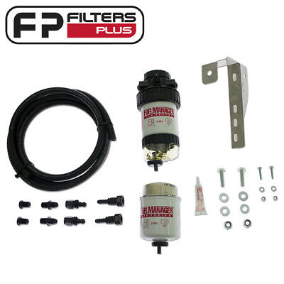 FM606DPK Fuel Manager Kit Removes 99% water from Diesel Protect your Injectors