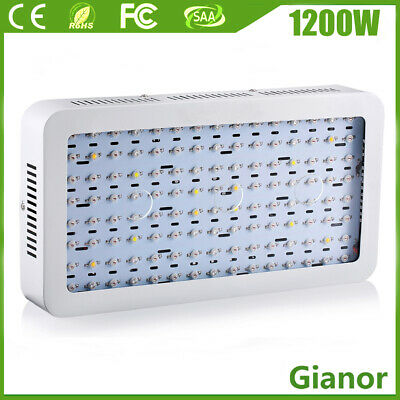 1200W 3000W LED Grow Light Full Spectrum Panel Hydro Veg Bloom Indoor Plant Lamp