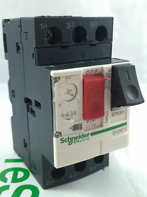 Schneider Electric GV2ME10 Motor Protection Circuit Breaker 3P 3kA 690V 4-6.3A