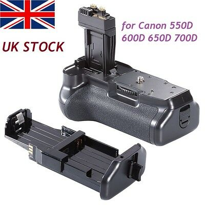 Pro Battery Grip Holder Replacement As BG-E8 for Canon EOS 550D 600D 650D 700D